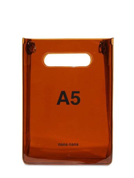 NANA NANA A5 Pvc Shopping Bag in brown