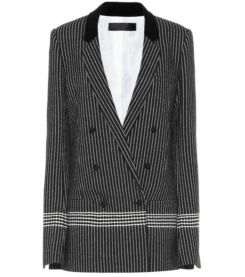 Haider Ackermann Wool-blend blazer in grey
