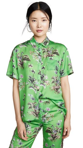 Le Superbe Club Tropicana Shirt in emerald