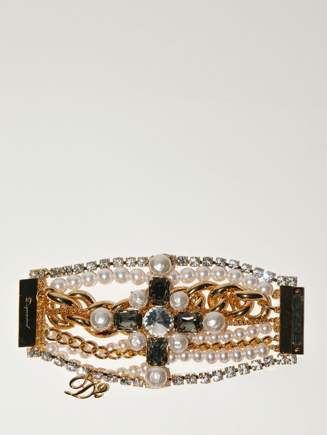 DSQUARED2 Lvr Exclusive Bracelet in gold / silver