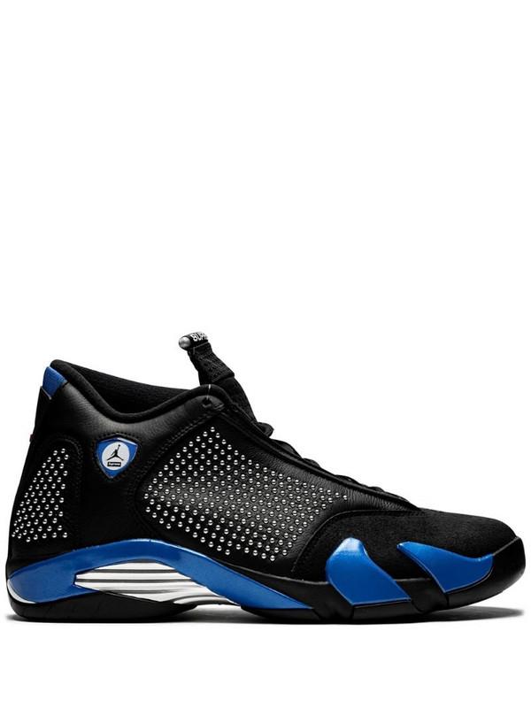 Air Jordan 14 Retro sneakers in black
