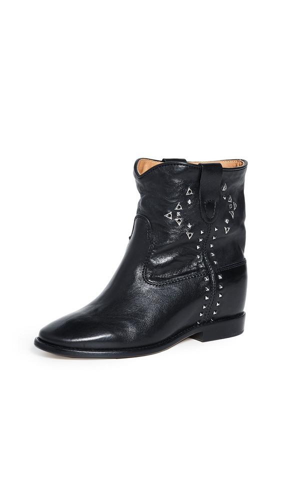 Isabel Marant Cluster Booties in black