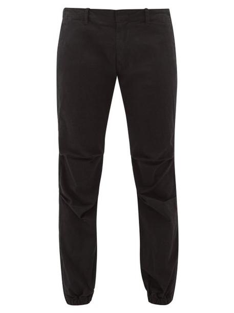 Nili Lotan - High Rise Straight Leg Jeans - Womens - Black