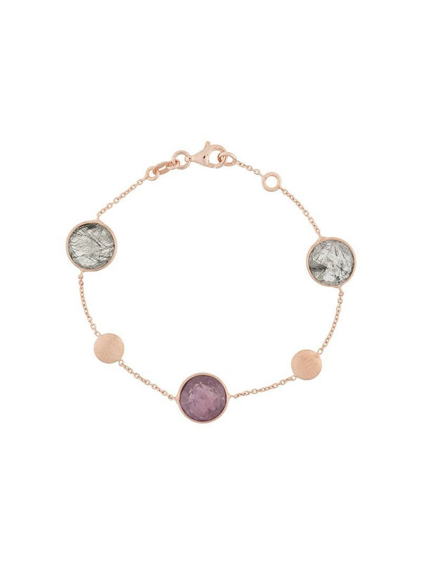Tateossian Round Kensington bracelet in gold