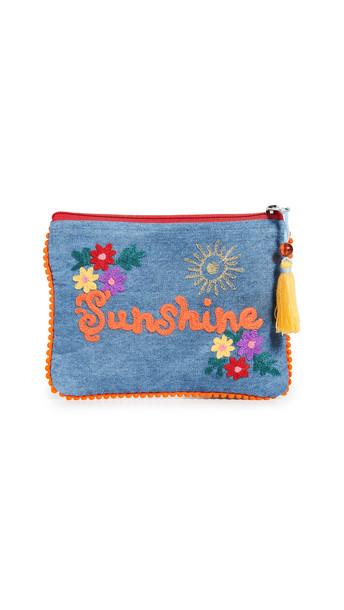 Shopbop Home Shopbop @Home Denim Sunshine Pouch