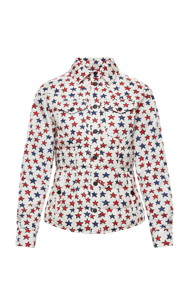 Moncler Genius 3 Moncler Grenoble Genius Star Print Jacket Size: 2