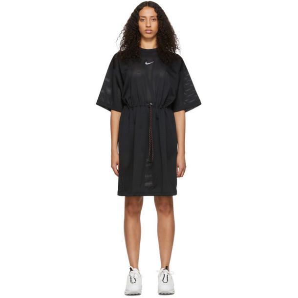NikeLab Black Mesh Dress