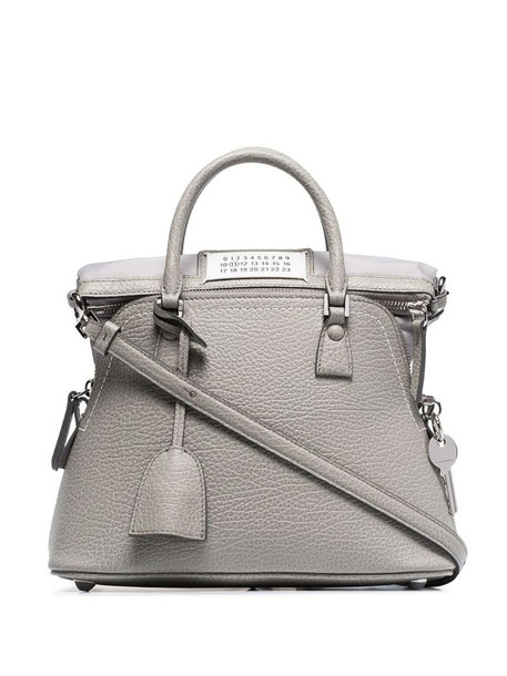 Maison Margiela hanging tag tote bag in grey