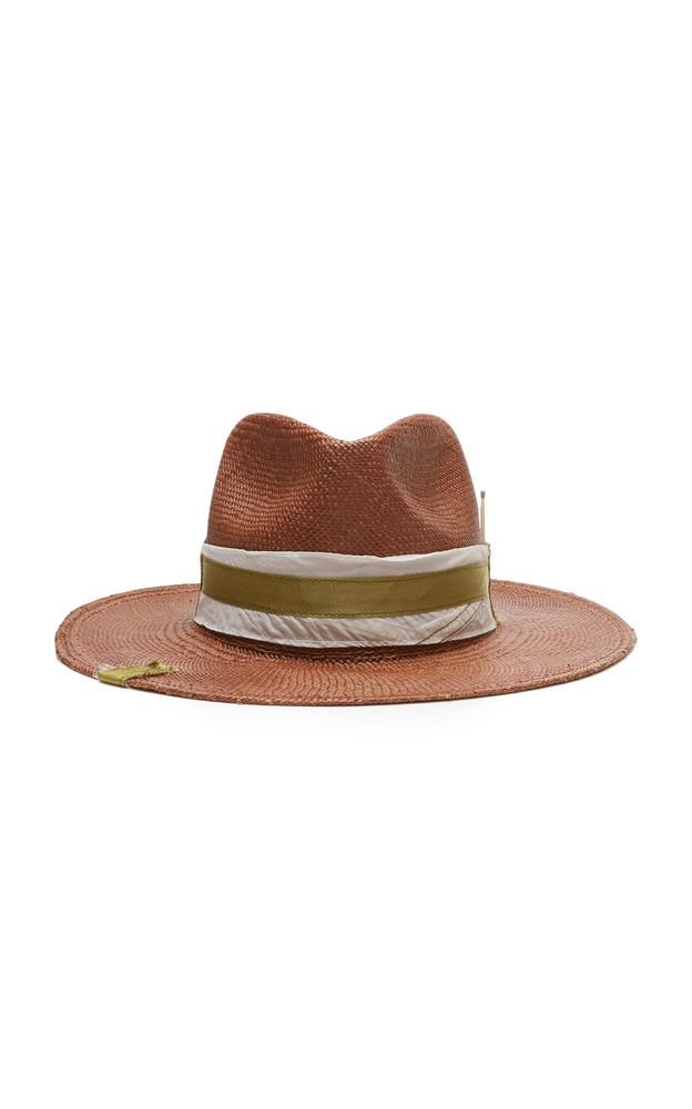 Nick Fouquet Gringo Straw Hat in brown