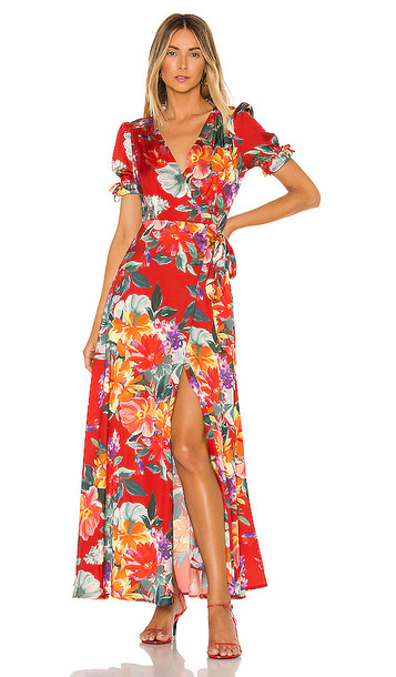 Privacy Please Lera Maxi Dress in Red