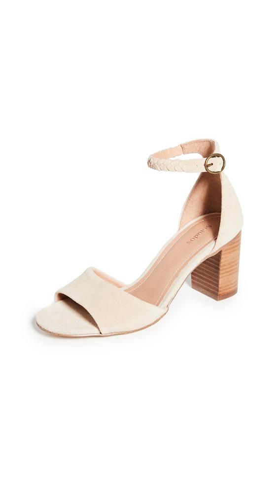 Soludos Hazel Heel Sandals in sand