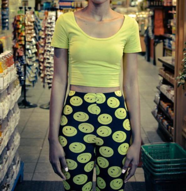skirt yellow smiley