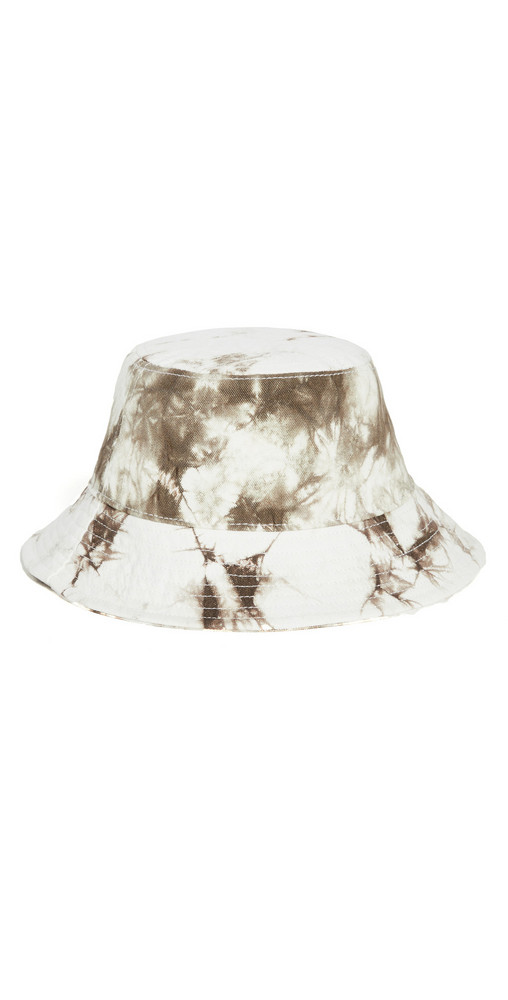 Madewell Tie Dye Bucket Hat in sand