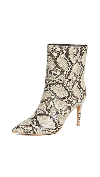 Matiko Mille Mid Shaft Boots in natural / print