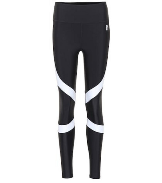 P.E Nation Sweep leggings in black