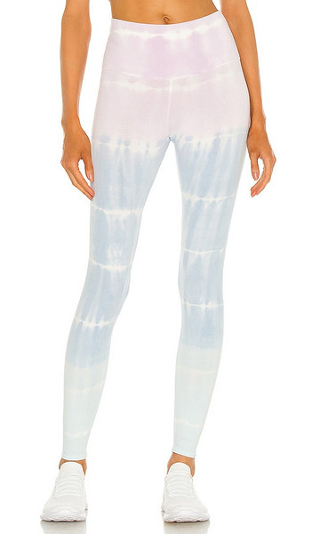 Electric & Rose Sunset Legging in Blue in lilac