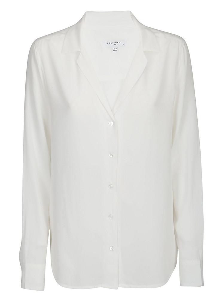 Equipment Adalyn Shirt in white