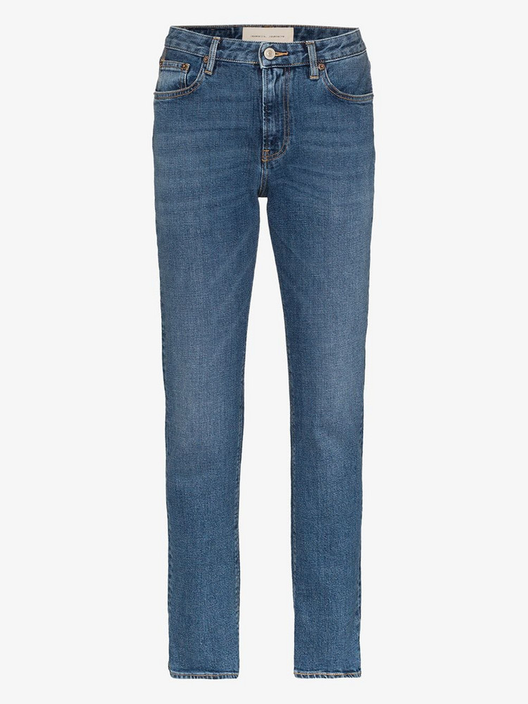 Jeanerica Straight leg vintage style jeans in blue