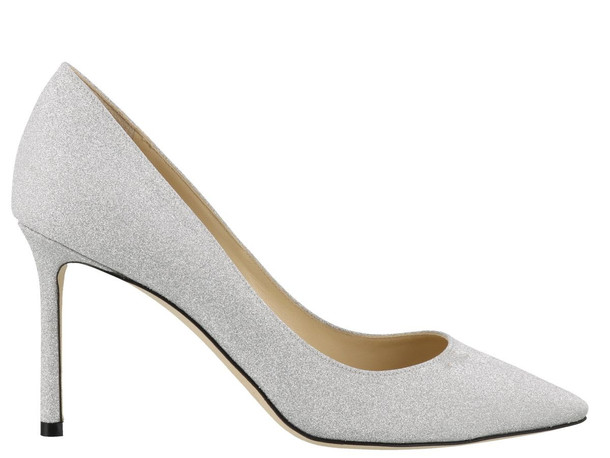 Jimmy Choo Romy Pump in silver