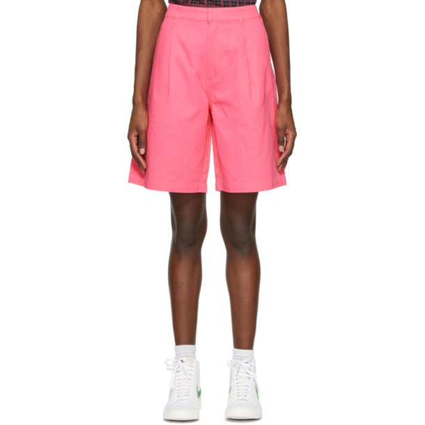 Stussy Pink Lee Baggy Shorts