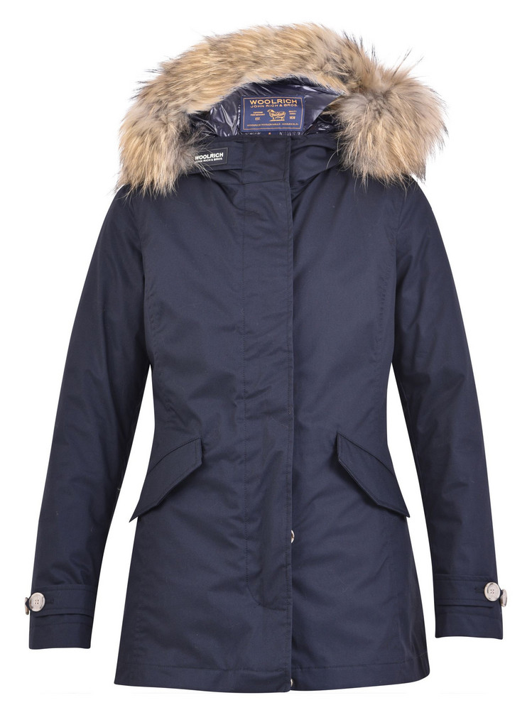 Woolrich Artic Nylon Padded Parka in blue