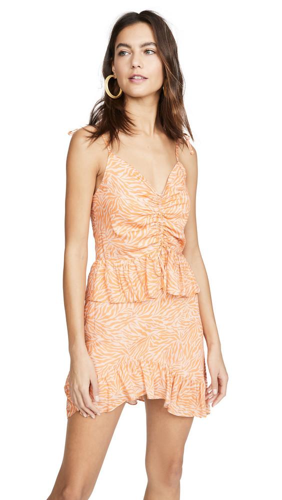 Suboo Sienna Mini Dress in orange