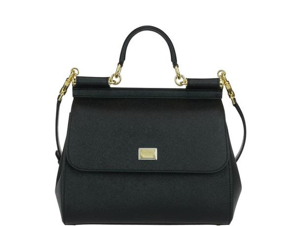 Dolce & Gabbana Medium Sicily Bag in black