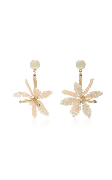 Lulu Frost Tahiti Drop Gold-Plated Brass Earrings