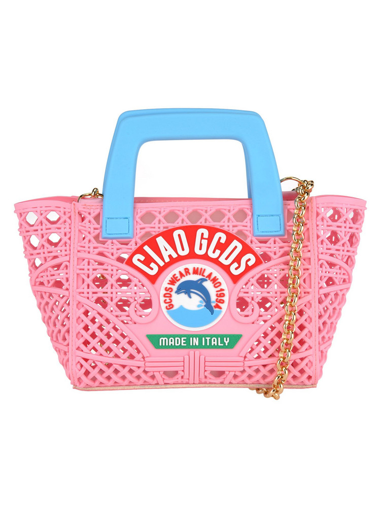 Gcds Gcds Mini Ciao Bag in pink