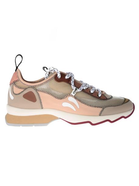 Fendi Technical Mesh Sneakers