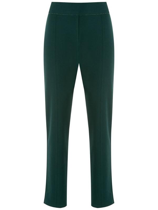 Alcaçuz straight leg trousers in green