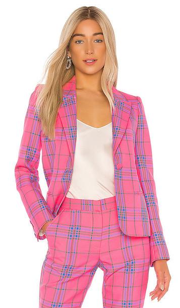 Tanya Taylor Waverly Blazer in Pink