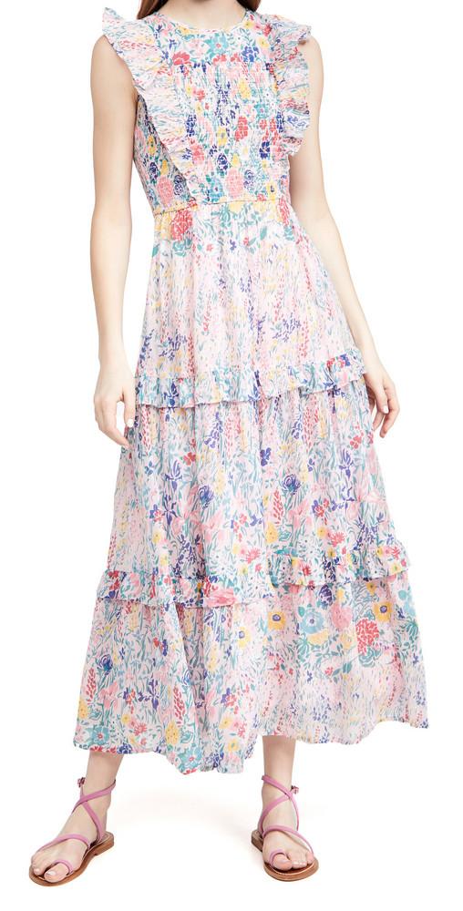Banjanan Iris Dress in rose