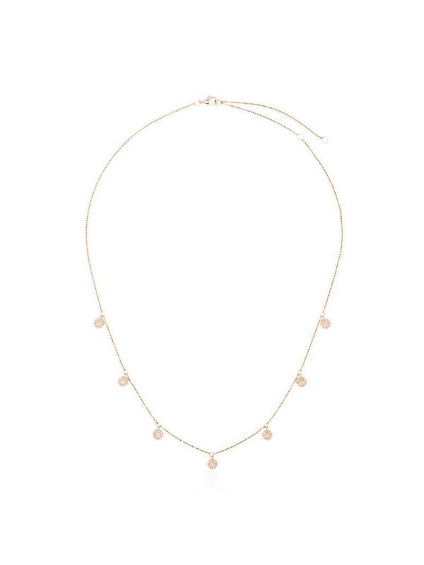 SHAY 18kt rose gold pavé diamond necklace