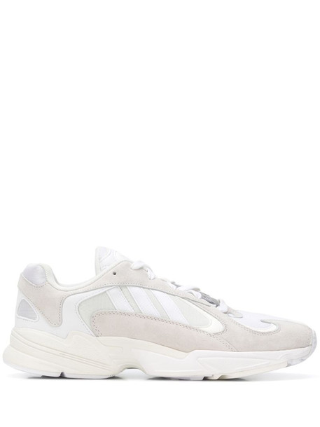 adidas Yung-1 sneakers in white