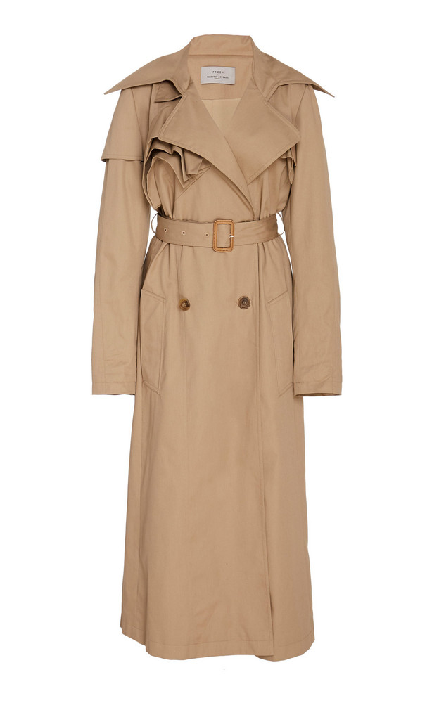 Preen by Thornton Bregazzi Waverly Belted Trench in neutral