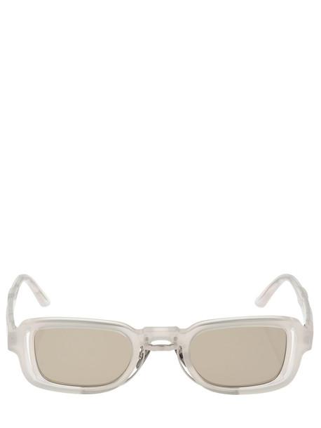 KUBORAUM BERLIN N12 Double Frame Squared Sunglasses in brown