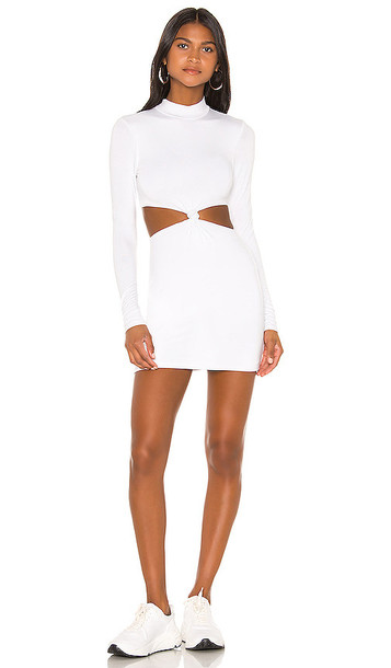 superdown Joanna Cut Out Dress in White