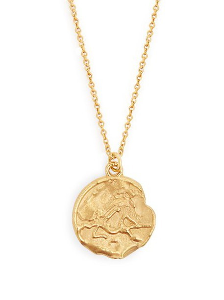 Alighieri - Virgo 24kt Gold Plated Necklace - Womens - Gold