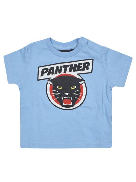 Yporque Panther Print Short Sleeve T-shirt