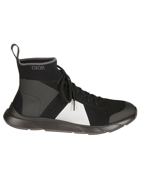 Christian Dior Dior Logo Sneakers in black