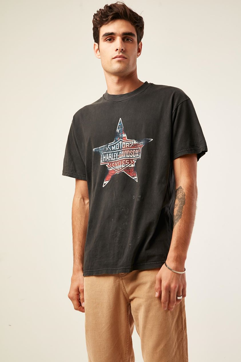 The People Vs Harley Collector Tee Washed Black