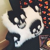 home accessory,pillow,halloween,skull,fluffy