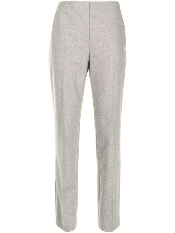 Ralph Lauren Collection high-rise tailored trousers in grey