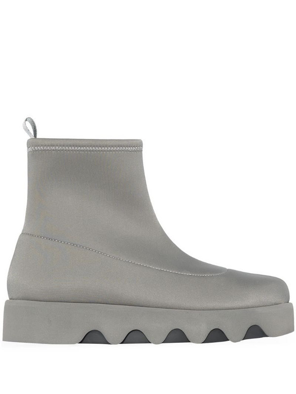 Issey Miyake Bounce ankle boots in grey