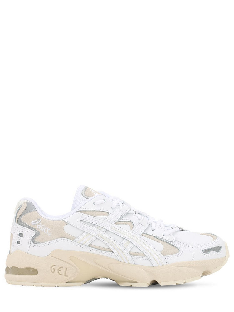 ASICS Kayano 5 Og Leather & Suede Sneakers in white