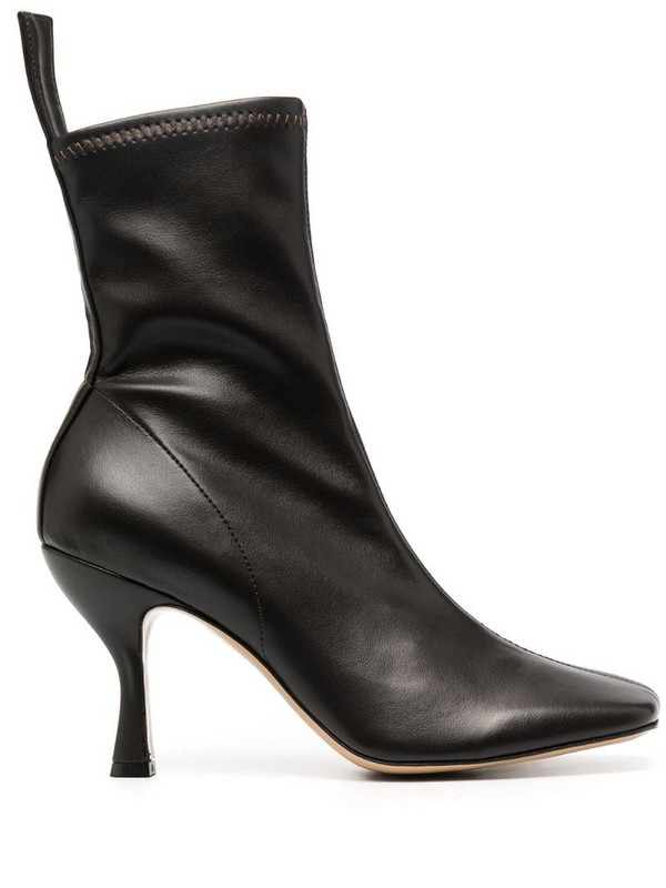 Gia Couture Soraya 80mm boots in black