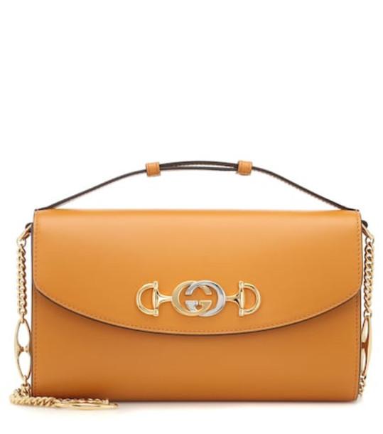 Gucci Zumi Small shoulder bag in brown