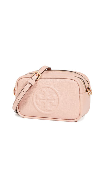 Tory Burch Perry Bombe Mini Bag in pink