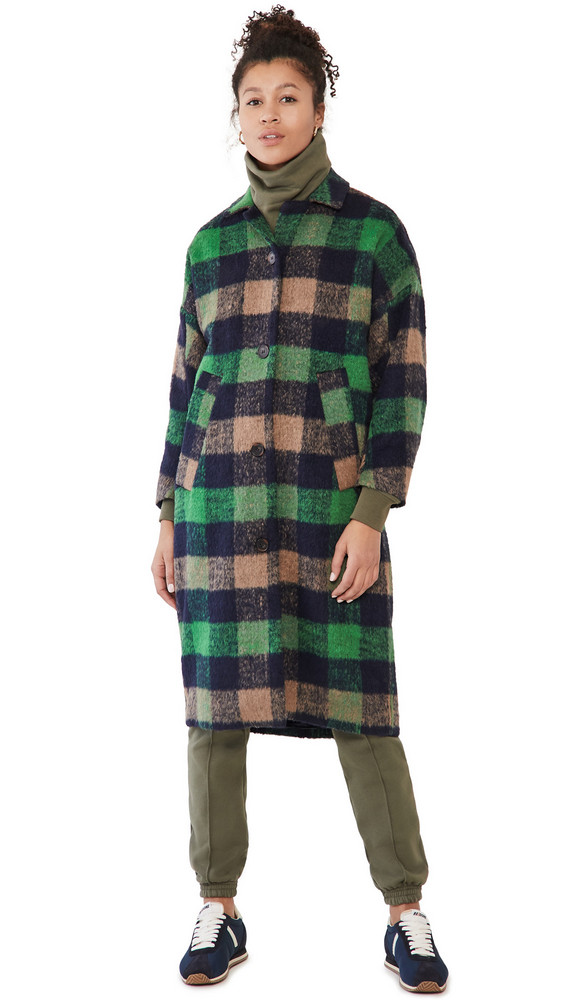 MUNTHE Talinum Coat in green